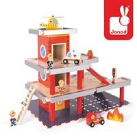 Janod  Story speelstad gebouw Garage - brandweerkazerne-1