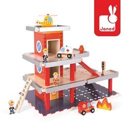 Janod  Story speelstad gebouw Garage - brandweerkazerne