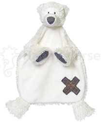 Happy Horse  knuffeldoekje Polar Bear Paddy Tuttle