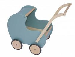 Van Dijk Toys  houten poppenmeubel Poppenwagen Noest groen