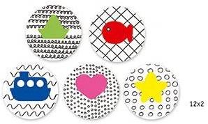 Djeco Wibbly-wobbly colouring-2