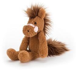 Jellycat Prancing Pony Kastanie - 21cm