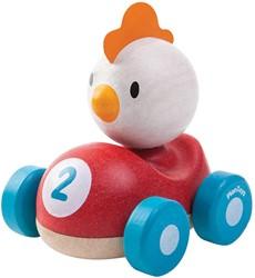 Plan Toys houten speelvoertuig Chicken racer
