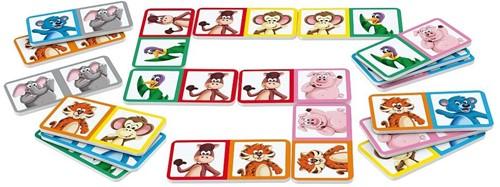Schmidt  kinderspel Domino kids-2