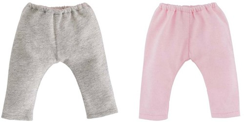 Corolle poppenkleding Mc 2 Leggings: Grey & Pink DJB75-2