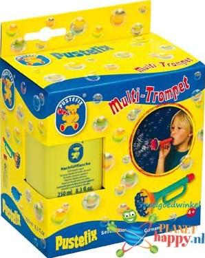 Pustefix  buitenspeelgoed Bellenblaas trompet