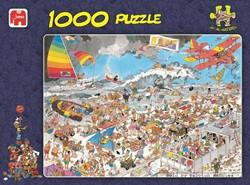 Jumbo Jan van Haasteren puzzel Op Het Strand - 1000 stukjes