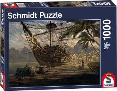 Schmidt legpuzzel Ship at Anchor, 1000 stukjes