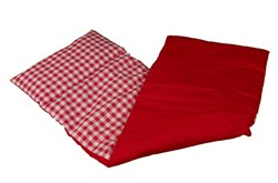 Van Dijk Toys  poppen accessoires dekentje rood geruit