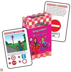 Planet Happy  leerkaarten Quiz it! Veilig verkeer!