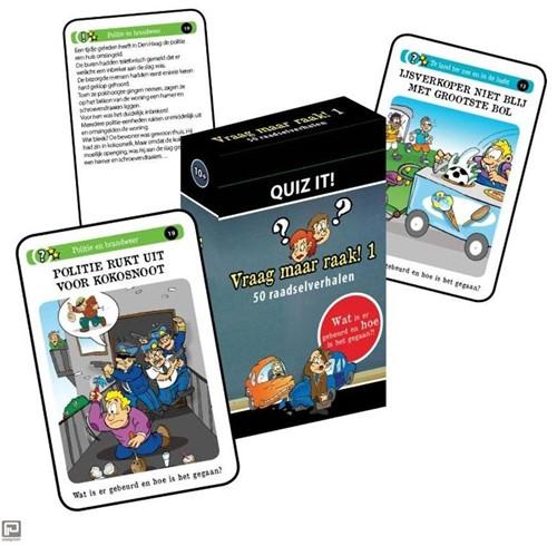 Schoolsupport leerkaarten Quiz it! Vraag maar raak! 1
