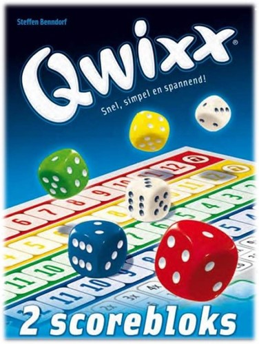 White Goblin Games spel Qwixx Blocks