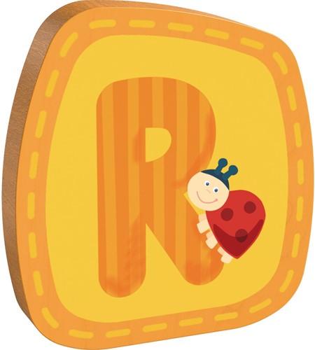 Houten letter R