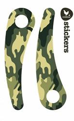 Wishbonebike  loopfiets accessoires Stickers Camouflage