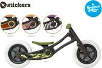 Wishbonebike  loopfiets accessoires recycled Stickers Camouflage-3
