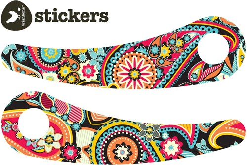 Wishbonebike loopfiets accessoires Stickers Paisley Recycled-1