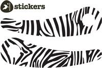 Wishbonebike loopfiets accessoires Stickers Zebra Recycled-1
