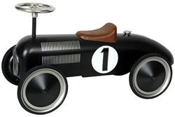 Retro Roller  loopauto zwart Jack