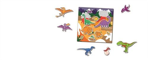 Galt stationery - Boek met herbruikbare stickers - Dinosaurussen-2