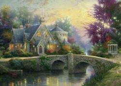 Schmidt  legpuzzel Lamplight Manor - 3000 stukjes