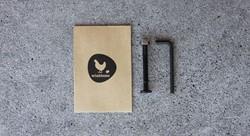Wishbonebike  loopfiets onderdelen Rotafix kleine onderdelen