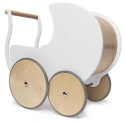 Kinderfeets Poppenwagen Wit