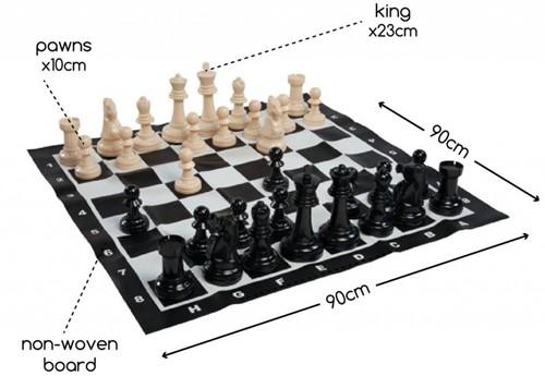 Buitenspeel  buitenspel Schaakspel XL GA229-2
