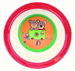 Sigikid  kinderservies Bord diep Wild and Berry Bears