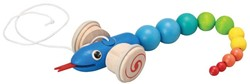 Plan Toys  houten trekfiguur Pull-along Slang