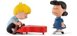 Schleich Peanuts - Scenery Pack Lucy & Schroeder 22055