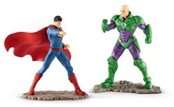 Schleich Justice League - Scenery Pack Superman Vs Lex Luthor 22541