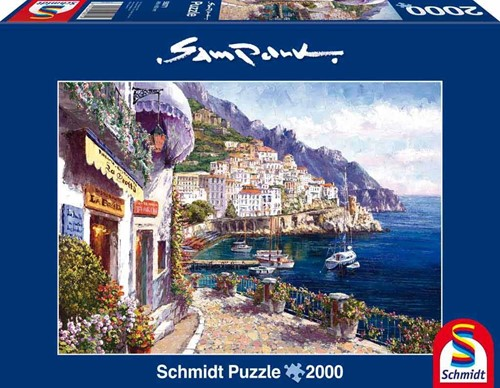 Schmidt legpuzzel Middag in Amalfi, 2000 stukjes