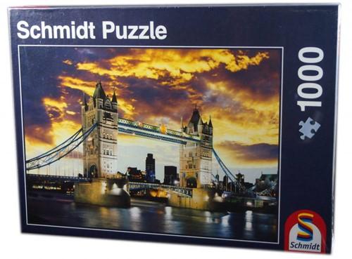 Schmidt legpuzzel Tower Bridge London, 1000 stukjes