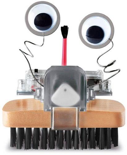 4M  Kidz Labs wetenschap speelgoed Borstelrobot-3