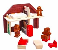 Plan Toys  Plan City houten speelstad gebouw Ginglebread House