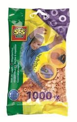 Ses  strijkkralen beige 1000 stuks