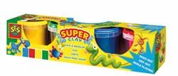 Ses  boetseerset Superdough, 4 kleuren