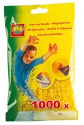 Ses  strijkkralen geel 1000 stuks