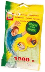 Ses  strijkkralen glow in the dark 1000 stuks