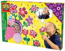 Ses  strijkkralen bloemen geur