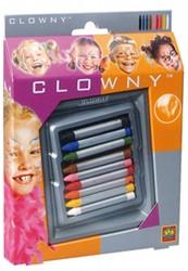 Ses Clowny verkleedkleren Schminkstiften