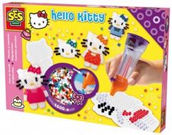 Ses knutselspullen Hello Kitty Perlamatic + bordje