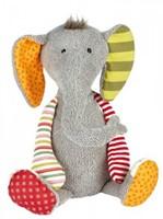 sigikid Patchwork Sweety knuffel olifant 38372