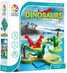 Smart Games  puzzelspel Dinosaurs Mystery Islands