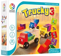 Smart Games  puzzelspel Trucky 3