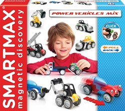 Smartmax  constructie speelgoed Power vehicles mix - 303