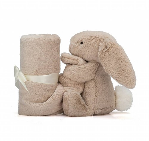 Jellycat Bashful Beige Bunny Soother-3