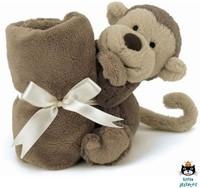 Jellycat Bashful Monkey Soother-2