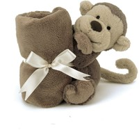 Jellycat Bashful Aap Soother-2