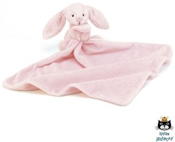 Jellycat Bashful Pink Bunny Soother - 34cm